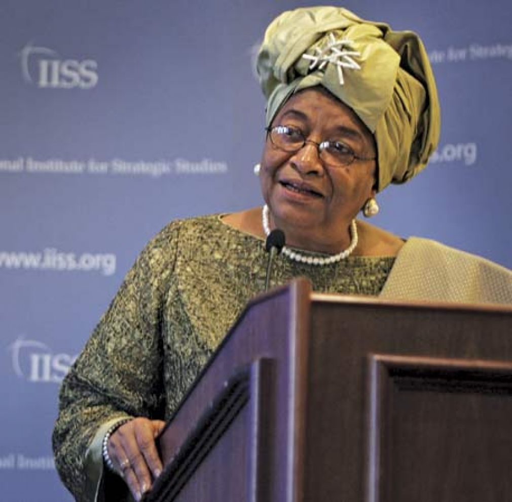 Ellen Johnson Sirleaf, Former President of Liberia and one of the most powerful Ladies in Africa