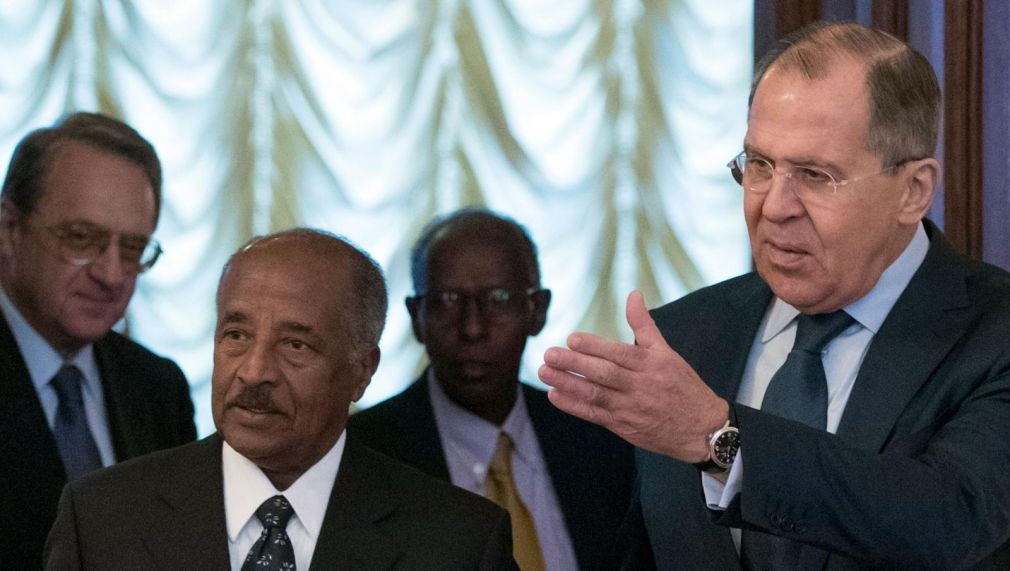 Russia is the latest world power eyeing the Horn of Africa