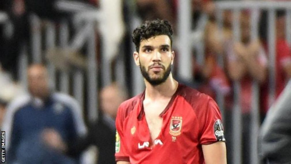 Al Ahly's Moroccan striker Walid Azaro will miss the second leg of the African Champions League