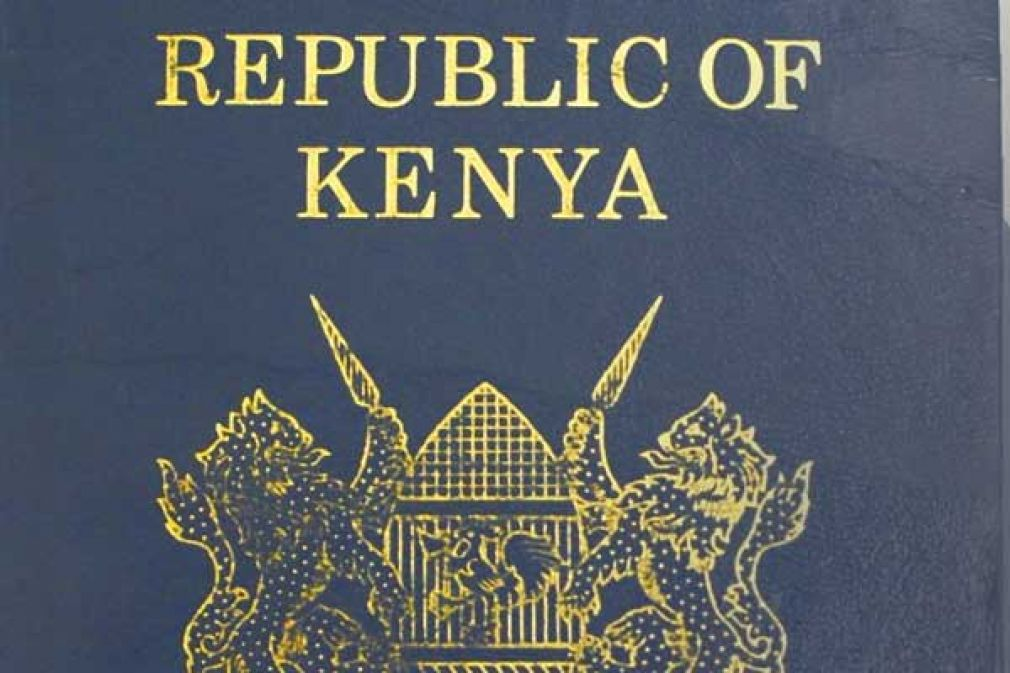 A Kenyan passport. The Kenyan business and academia communities will now be issued with multiple entry visas valid for up to 10 years.