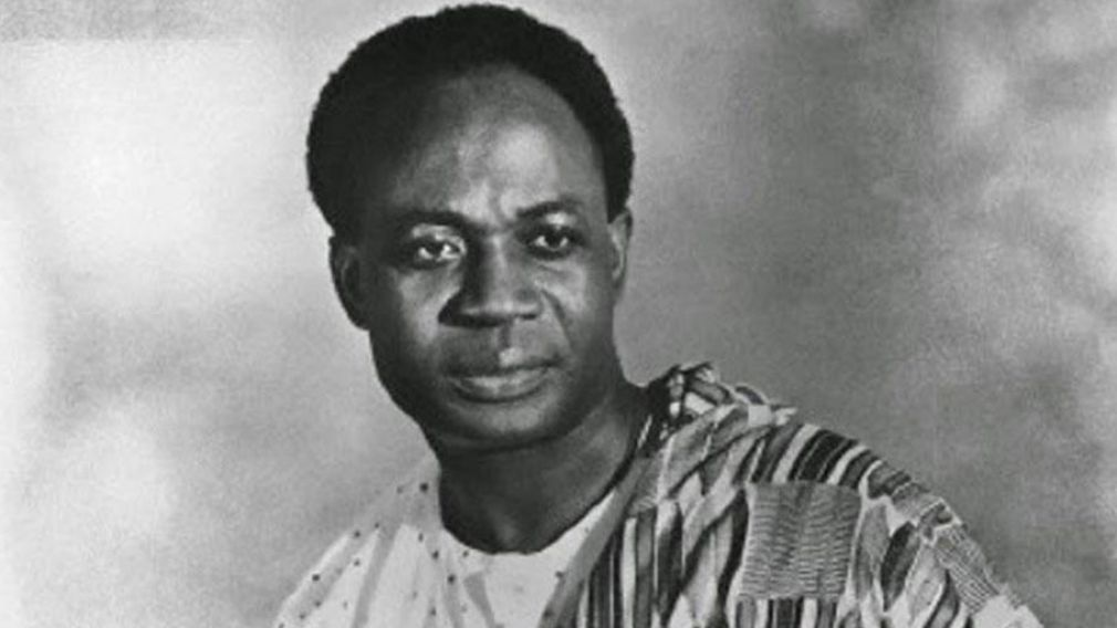 Photo of Osagyefo Kwame Nkrumah (born: September 21, 1909 - died: April 27, 1972). First President of Ghana and a founding member of the Organization of African Unity.