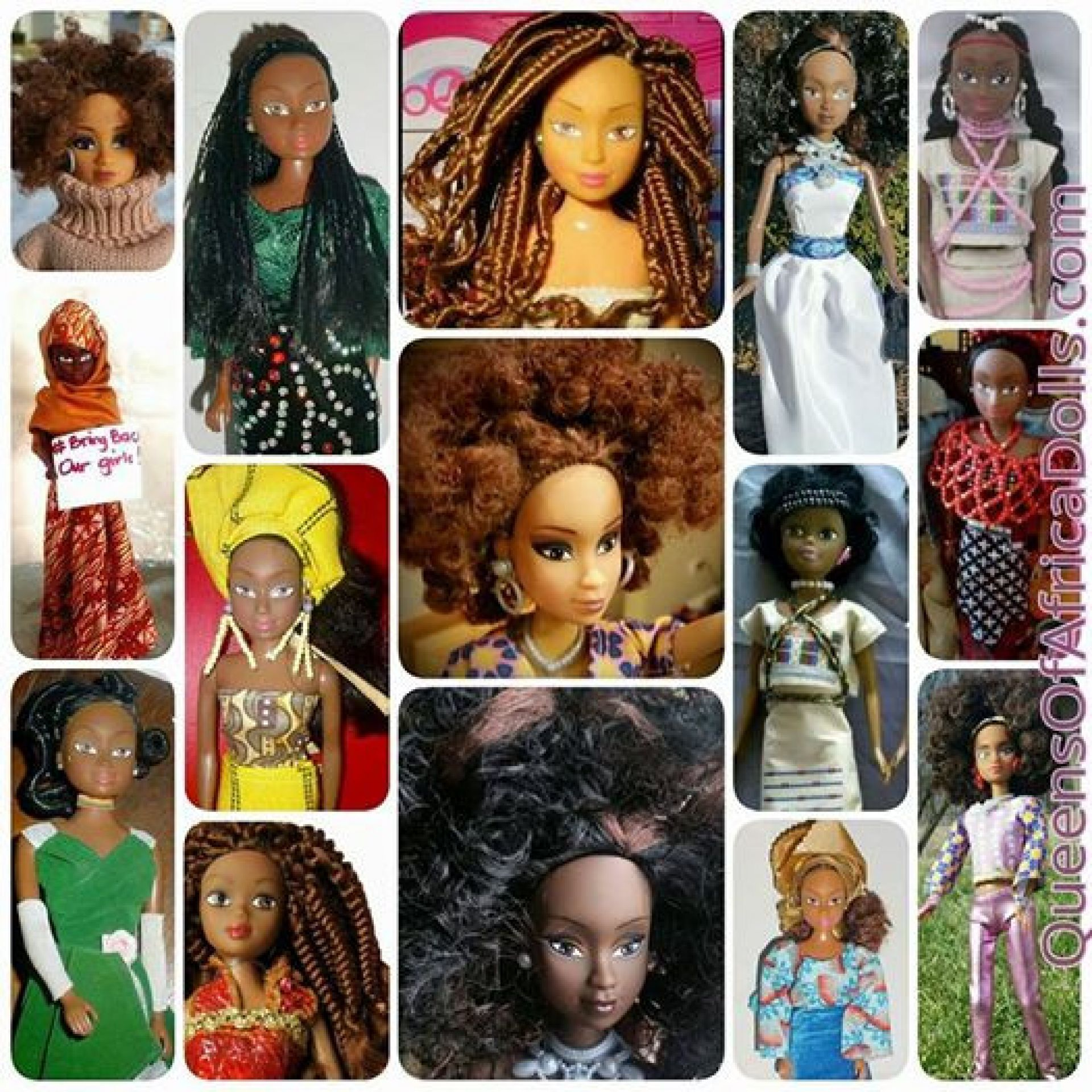 buzzercast com - Queens of Africa: The Dolls That are Taking