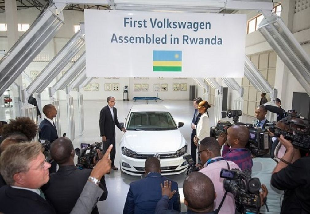 Volkswagen launches local assembly and car sharing in Rwanda